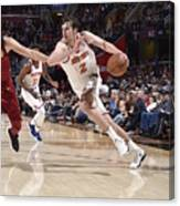New York Knicks V Cleveland Cavaliers Canvas Print