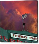 Baltimore Orioles V Boston Red Sox Canvas Print