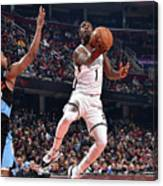 Brooklyn Nets V Cleveland Cavaliers Canvas Print