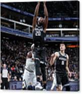 Denver Nuggets V Sacramento Kings Canvas Print