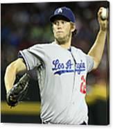 Los Angeles Dodgers V Arizona 17 Canvas Print