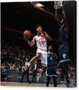 Memphis Grizzlies V New York Knicks Canvas Print