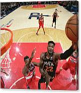 Phoenix Suns V Washington Wizards Canvas Print