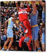 Washington Wizards V Los Angeles Lakers Canvas Print