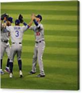 Los Angeles Dodgers V Arizona 18 Canvas Print
