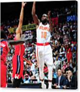 Washington Wizards V Atlanta Hawks Canvas Print