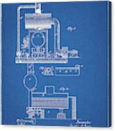 1885 Furnace Patent Canvas Print