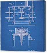 1885 Grist Mill Patent Canvas Print