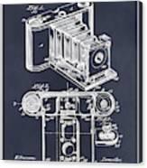 1899 Photographic Camera Patent Print Blackboard Canvas Print