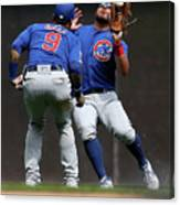 Chicago Cubs V Milwaukee Brewers 19 Canvas Print