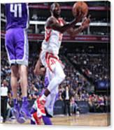 Houston Rockets V Sacramento Kings Canvas Print