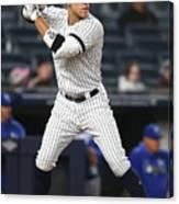 Kansas City Royals V New York Yankees 19 Canvas Print