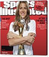 Us Womens National Team 2015 Fifa Womens World Cup Champions Sports Illustrated Cover Canvas Print