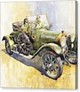 1916 Praga Mignon Canvas Print