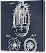 1917 Hand Grenade Blackboard Patent Print Canvas Print
