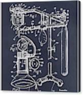 1919 Anesthetic Machine Blackboard Patent Print Canvas Print