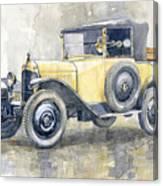 1925 Citroen 5cv Canvas Print
