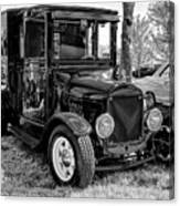 1925 Ford Model T Delivery Truck Hot Rod Canvas Print
