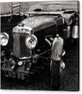 1930's Aston Martin Convertible Canvas Print