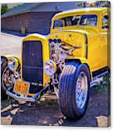 1931 Ford Model A 5 Window Coupe Canvas Print