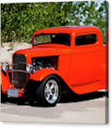 1932 Ford 3 Window Coupe  Canvas Print