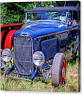 1932 Ford Highboy Hot Rod Roadster Canvas Print