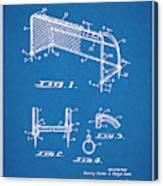 1933 Soccer Goal Blueprint Patent Print Canvas Print