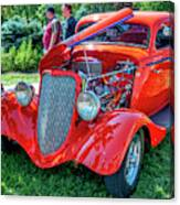 1934 Ford 3 Window Coupe Hot Rod Canvas Print