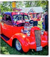 1935 Dodge Coupe Hot Rod Gasser Canvas Print