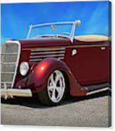 1935 Ford Roadster Canvas Print
