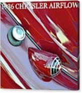 1936 Chrysler Airflow B Canvas Print