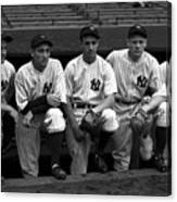 1937 World Series - New York Giants V 1937 Canvas Print