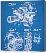 1938 Bell And Howell Movie Camera Patent Print Blueprint Canvas Print