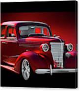 1938 Chevrolet Master Deluxe Sedan Canvas Print