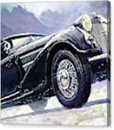 1938 Horch 855 Special Roadster Canvas Print