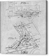 1939 Dump Truck Gray Patent Print Canvas Print