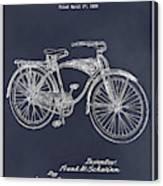 1939 Schwinn Bicycle Blackboard Patent Print Canvas Print