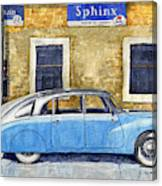 1948-1949 Tatra T87 Canvas Print