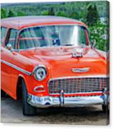 1955 Chevrolet Bel Air Nomad Canvas Print