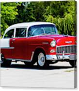 1955 Chevrolet Bel Air Canvas Print