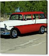 1956 Chevrolet Handyman Station Wagon  Canvas Print