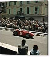 1956 Monaco Grand Prix Canvas Print
