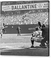 1956 World Series - Game 5  Brooklyn Canvas Print