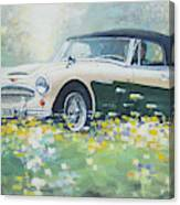 1967 Austin Healey 3000 Mk I I I B J 8 Canvas Print