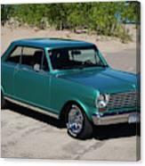 1963 Chevrolet Nova Ss Canvas Print