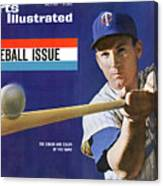 1963 Mlb Baseball Preview Issue Sports Illustrated Cover Canvas Print
