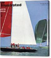 1964 Americas Cup Preview Sports Illustrated Cover Canvas Print
