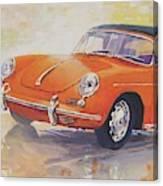 1965 Porsche 356 C Cabriolet Canvas Print