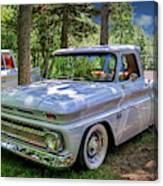 1966 Chevrolet C10 Pickup Truck Canvas Print