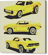 1969 Camaro Canvas Print
